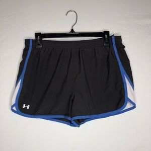 Under Armour Heat Gear Shorts with Panties Size L